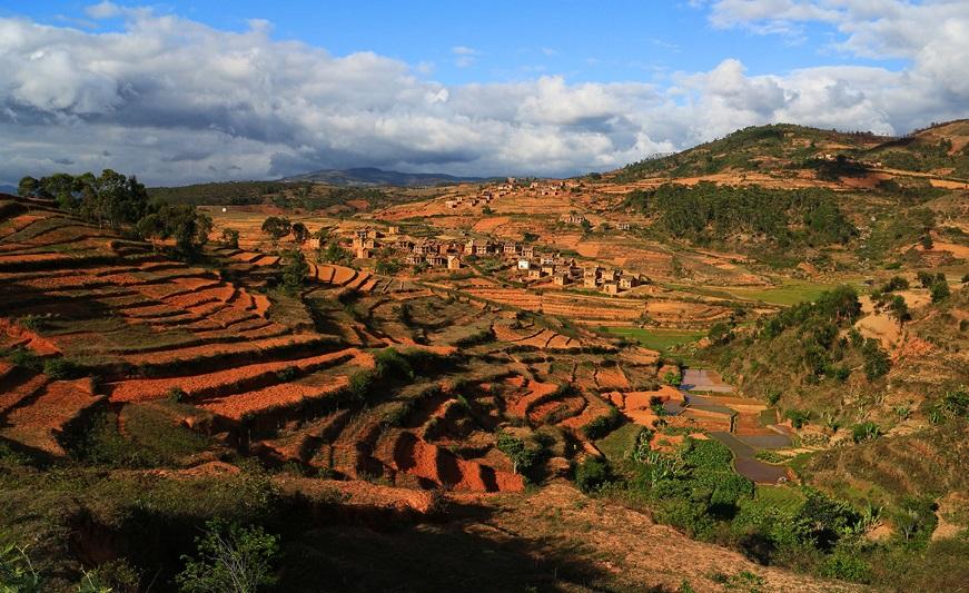 Paysage à Madagascar