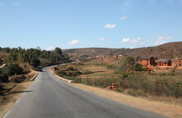 Route à Madagascar