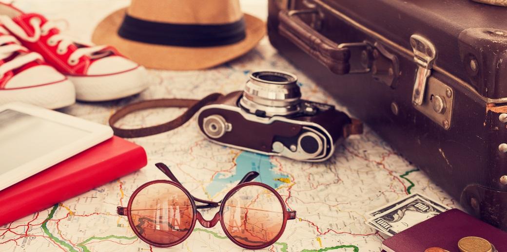 Valise et articles de voyage